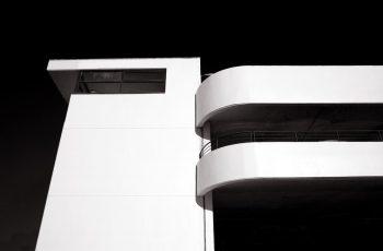 dublin, lines, building, car park, black and white, monochrome, parallel lines, lines